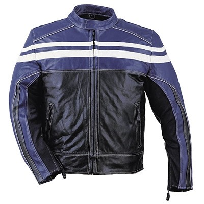 HMB-0412D GENUINE LEATHER JACKET MEN BIKER JACKETS ZIPOUT LINING