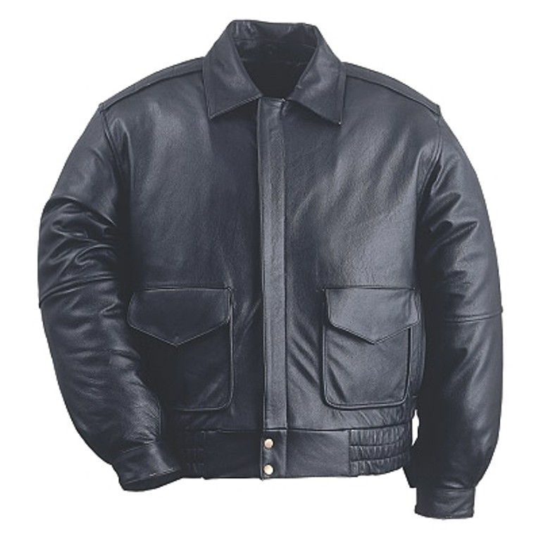 HMB-0456A GENUINE LEATHER JACKET MEN BIKER JACKETS ZIPOUT LINING