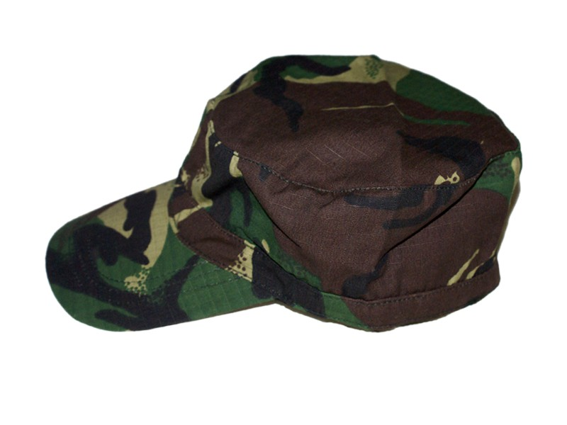 HMB-907B COTTON ARMY HAT VELCRO BACK FITS MOST BALLCAP BASE STYLE MILITARY CAPS