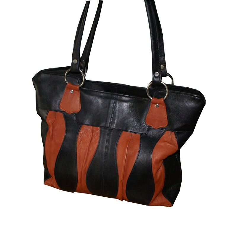 HMB-2009A FREE SHIPPING LEATHER SHOULDER BAG