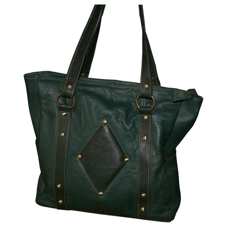 HMB-2022A FREE SHIPPING LEATHER SHOULDER BAG