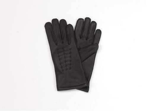 HMB-2027A LEATHER BIKER GLOVES RIDER CHOICE FULL FINGER