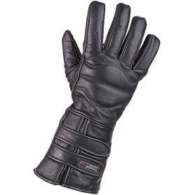 HMB-2036A LEATHER BIKER GLOVES RIDER CHOICE FULL FINGER