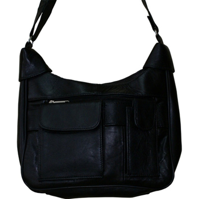 HMB-2102A FREE SHIPPING LEATHER SHOULDER BAG