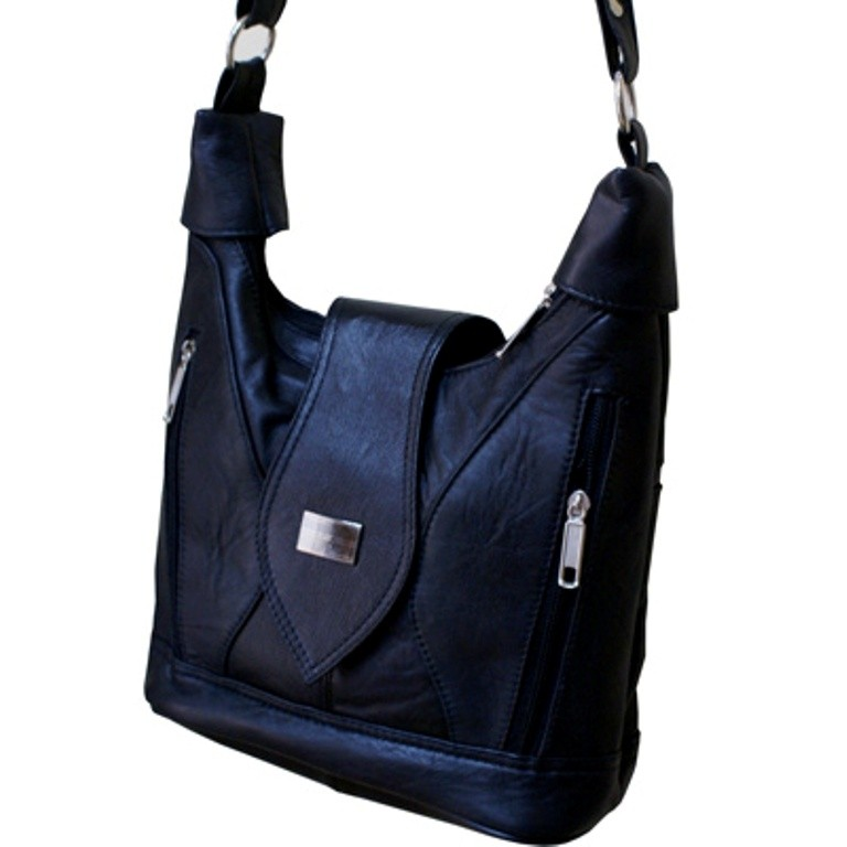 HMB-2104A FREE SHIPPING LEATHER SHOULDER BAG
