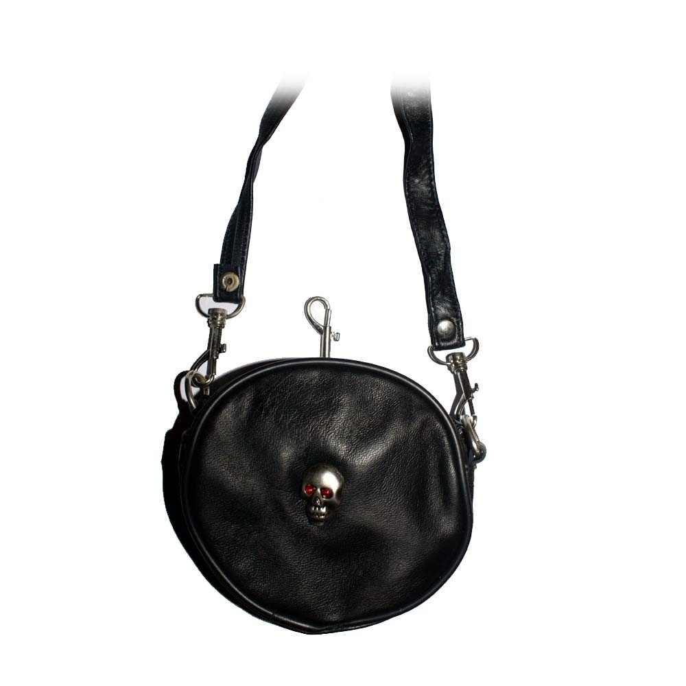 HMB-2112B FREE SHIPPING LEATHER SHOULDER BAG