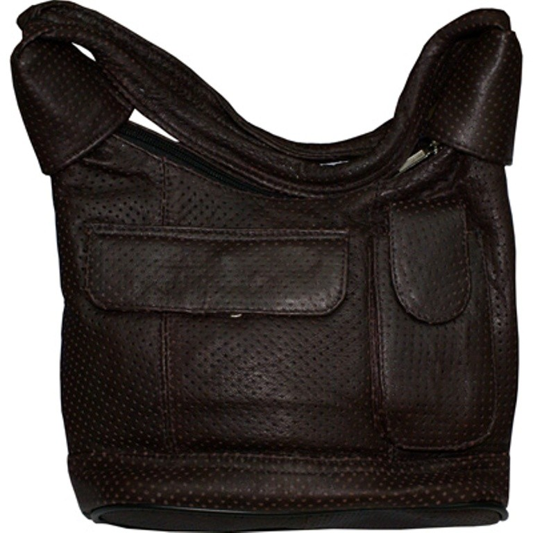 HMB-2114A FREE SHIPPING LEATHER SHOULDER BAG