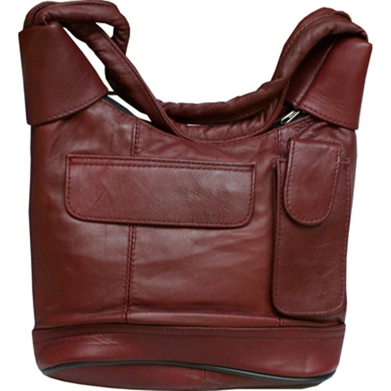 HMB-2114B FREE SHIPPING LEATHER SHOULDER BAG