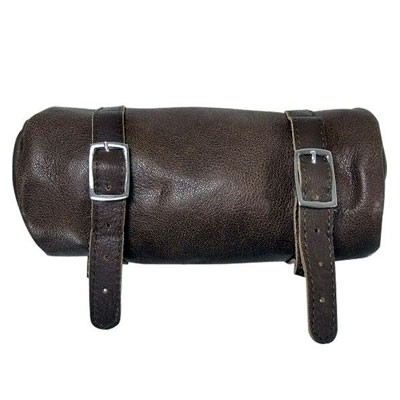 HMB-3021A LEATHER MOTORCYCLE TOOLS FORK BAG BIKER TOOLBAG SOFT STYLE