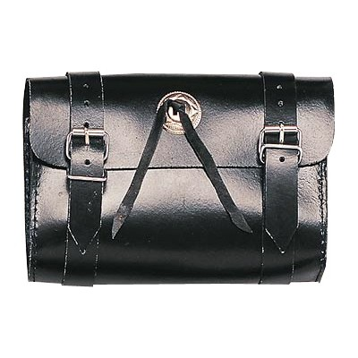 HMB-3022A LEATHER MOTORCYCLE TOOLS FORK BAG BIKER TOOLBAG