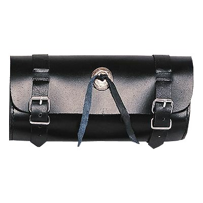 HMB-3024A LEATHER MOTORCYCLE TOOLS FORK BAG BIKER TOOLBAG