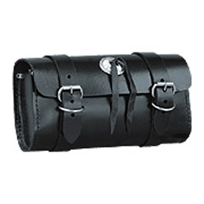 HMB-3024C LEATHER MOTORCYCLE TOOLS FORK BAG BIKER TOOLBAG