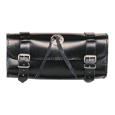 HMB-3028A LEATHER MOTORCYCLE TOOLS FORK BAG BIKER TOOLBAG