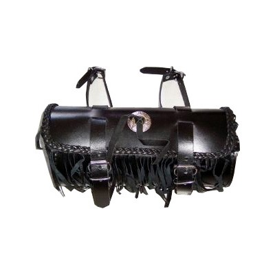 HMB-3029A LEATHER MOTORCYCLE TOOLS FORK BAG BIKER TOOLBAG