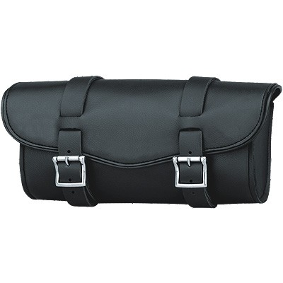 HMB-3054A LEATHER MOTORCYCLE TOOLS FORK BAG BIKER TOOLBAG