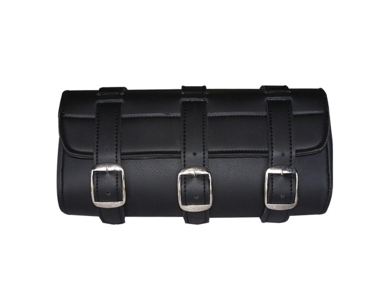 HMB-3063A LEATHER MOTORCYCLE TOOLS FORK BAG BIKER TOOLBAG