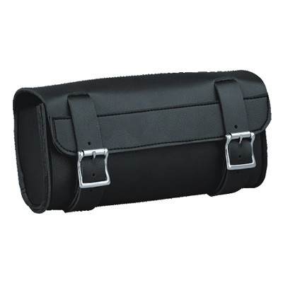 HMB-3067A LEATHER MOTORCYCLE TOOLS FORK BAG BIKER TOOLBAG