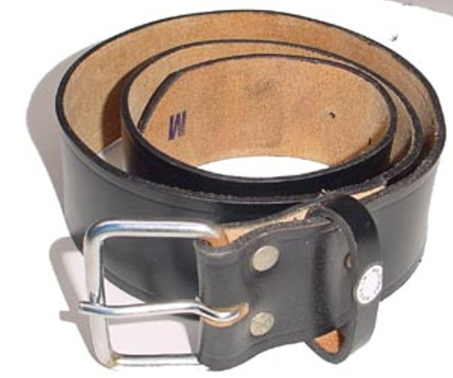 HMB-3941A LEATHER PANTS BELT PLAIN STYLE WITH  BUCKL