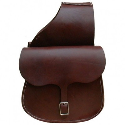 HMB-4062A FREE SHIPPING LEATHER MOTORCYCLE SADDLE BAG