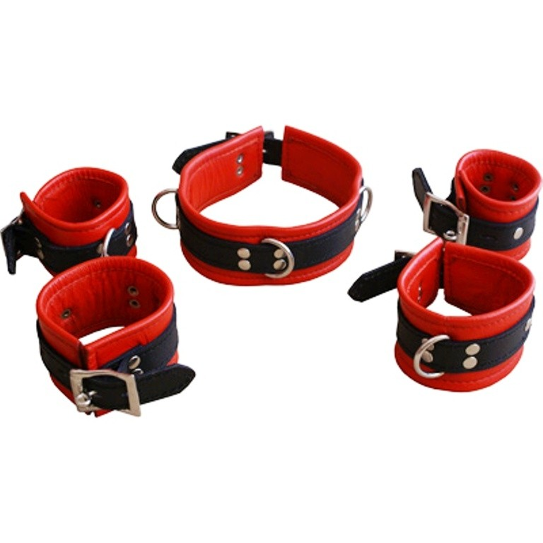 HMB-406A LEATHER CUFS BAND
