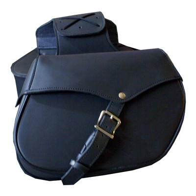 HMB-4090A FREE SHIPPING LEATHER MOTORCYCLE SADDLE BAG