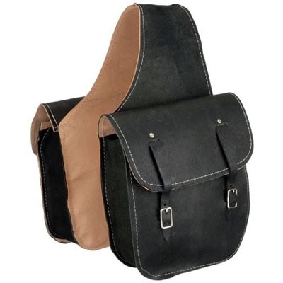 HMB-4098A FREE SHIPPING LEATHER MOTORCYCLE SADDLE BAG