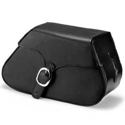 HMB-4113A FREE SHIPPING LEATHER MOTORCYCLE SADDLE BAG