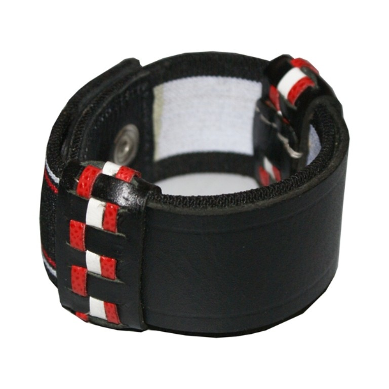 HMB-411A LEATHER CUFS BAND