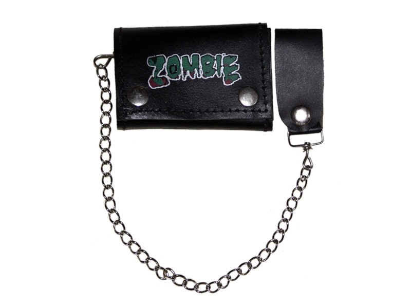 HMB-725P TRIFOLD WALLET CHAIN PURSE WALLETS