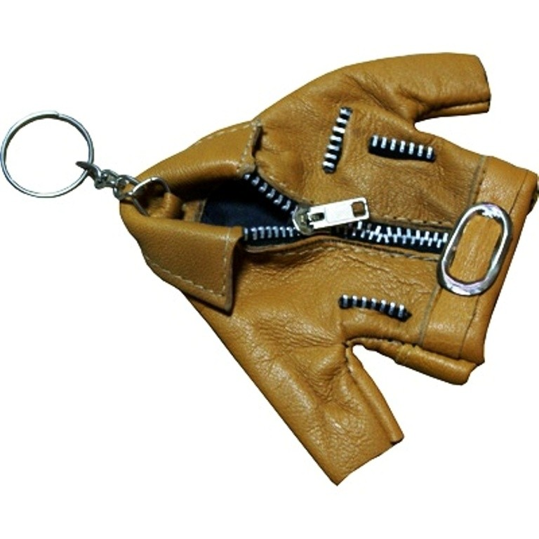 HMB-748C LEATHER KEYCHAINS