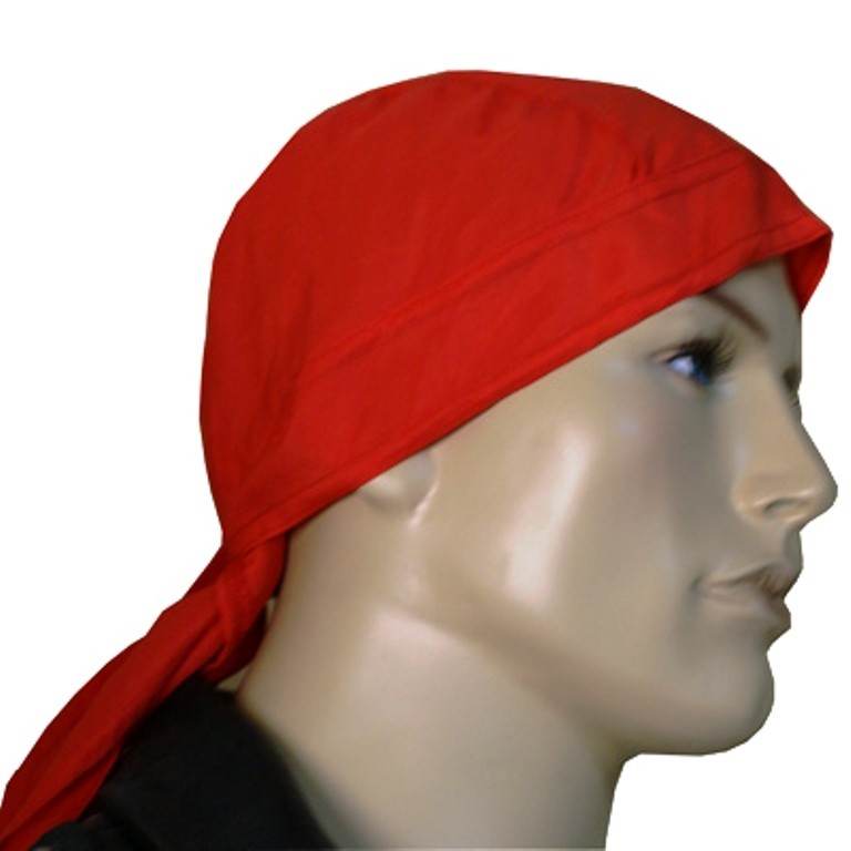HMB-901A-F5 LEATHER SKULLCAP BANDANA CAPS DURAG HATS BIKER HEAD GEAR