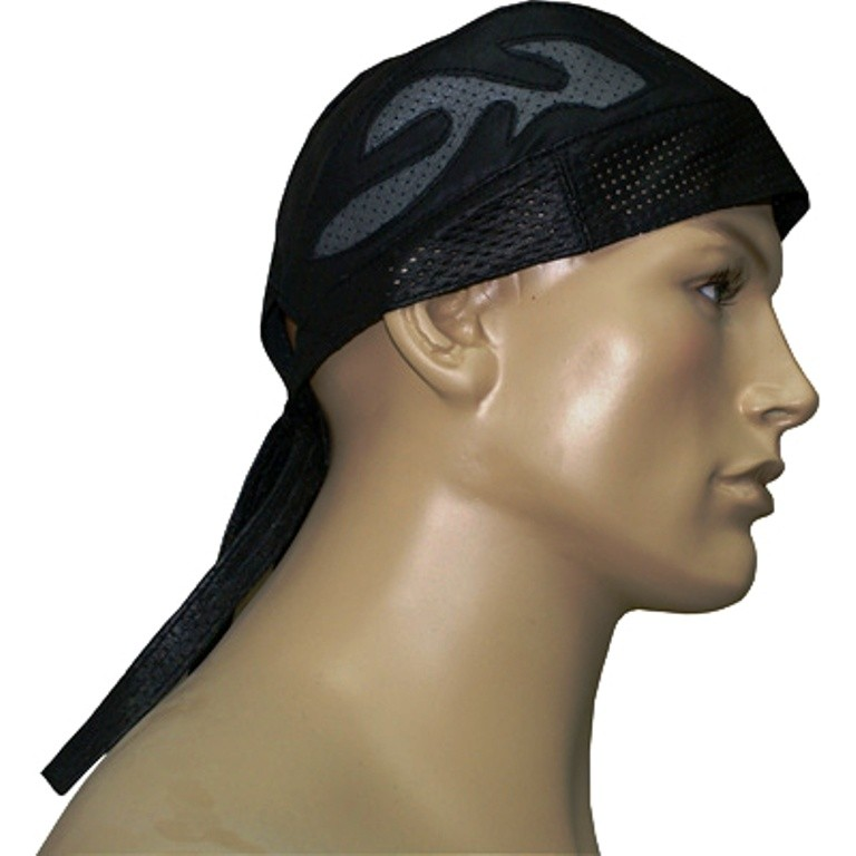 HMB-901G-2 LEATHER SKULLCAP BANDANA CAPS DURAG HATS BIKER HEAD GEAR