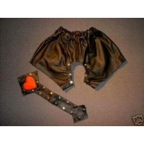 CW-287 LEATHER SHORT