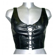 CW-278 LEATHER HALTER