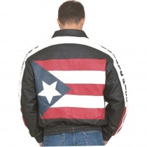 HMB-0427A GENUINE LEATHER JACKET MEN BIKER JACKETS ZIPOUT LINING