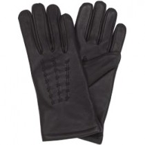 HMB-2078A LEATHER BIKER GLOVES RIDER CHOICE FULL FINGER
