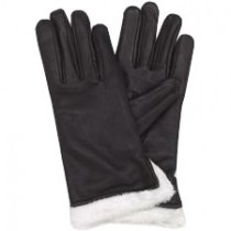 HMB-2081A LEATHER BIKER GLOVES RIDER CHOICE FULL FINGER