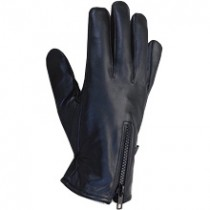 HMB-2087A LEATHER BIKER GLOVES RIDER CHOICE FULL FINGER
