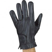 HMB-2092A LEATHER BIKER GLOVES RIDER CHOICE FULL FINGER