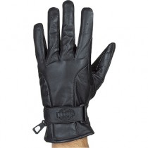 HMB-2095A LEATHER BIKER GLOVES RIDER CHOICE FULL FINGER