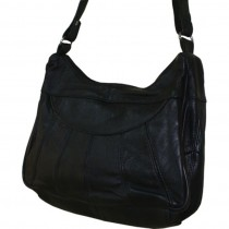 HMB-2108B FREE SHIPPING LEATHER SHOULDER BAG