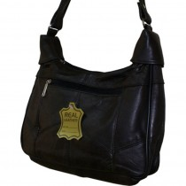 HMB-2108C FREE SHIPPING LEATHER SHOULDER BAG