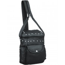 HMB-2532B FREE SHIPPING LEATHER SHOULDER BAG