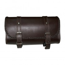HMB-3032A LEATHER MOTORCYCLE TOOLS FORK BAG BIKER TOOLBAG