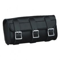 HMB-3068A LEATHER MOTORCYCLE TOOLS FORK BAG BIKER TOOLBAG