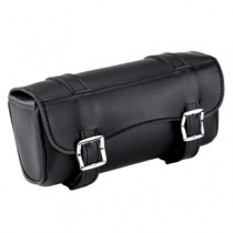 HMB-3069A LEATHER MOTORCYCLE TOOLS FORK BAG BIKER TOOLBAG