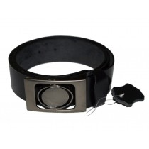 HMB-3932G LEATHER PANTS BELT BRAID STYLE WITH  BUCKLE FIX