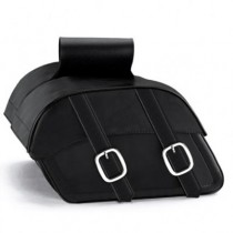 HMB-4110A FREE SHIPPING LEATHER MOTORCYCLE SADDLE BAG