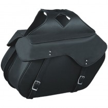 HMB-4169B FREE SHIPPING LEATHER MOTORCYCLE SADDLE BAG