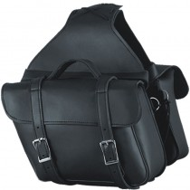 HMB-4189A FREE SHIPPING LEATHER MOTORCYCLE SADDLE BAG